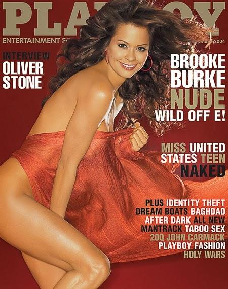 Playboy Americana - Capa: Brooke Burke, Wild Off E! - Edição Novembro 2004 Confira as fotos da apresentadora de Tv Americana, Brooke Burke, capa da Playboy Americana de Novembro de 2004! Brooke Burke (Hartford, 8 de setembro de 1971) é uma modelo e apresentadora de TV estadunidense. Apresentou entre outros os shows Wild On! (1999–2002), Rock Star (2005–2006) e ganhou notoriedade por ser vencedora da sétima temporada do reality show Dancing with the Stars.
