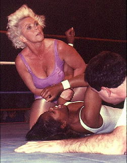 Female Wrestling - Sandy Partlow