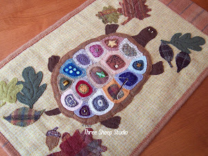 Wool Turtle Wall Hanging...