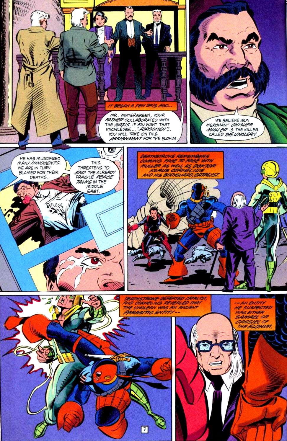 Deathstroke (1991) Issue #38 #43 - English 8