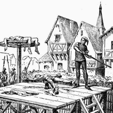 Hukuman Paling Sadis Di Jaman Dulu