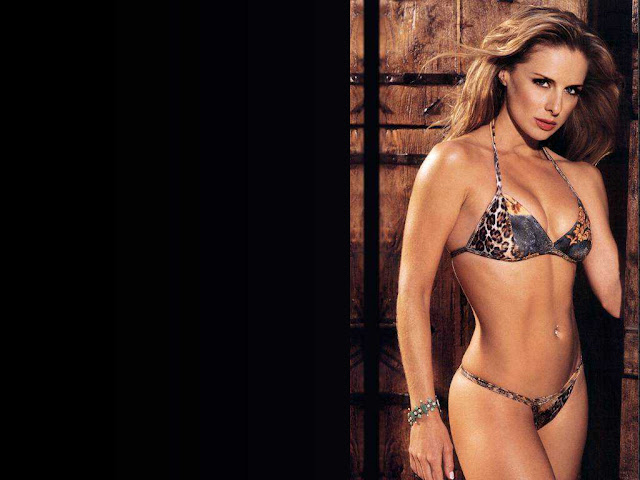 Belinda Barbara Chapple sexy in lingerie