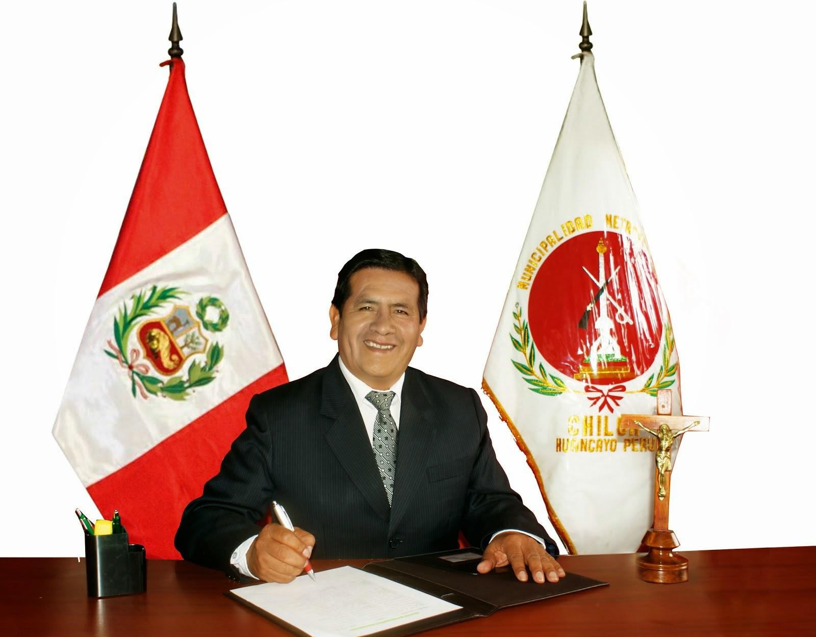 JOSE AUQUI ALCALDE DE CHILCA HUANCAYO