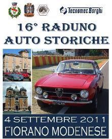 16° Raduno Auto Storiche Fiorano