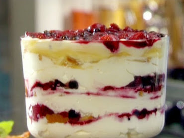 Southern Rum Berry Trifle