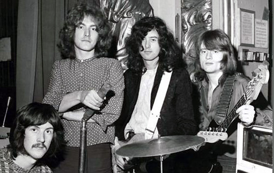 Led Zeppelin em março de 1969