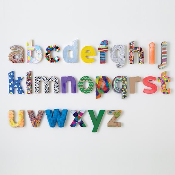 Round up my favorite alphabet prints design improvised for Alphabet letters cardboard