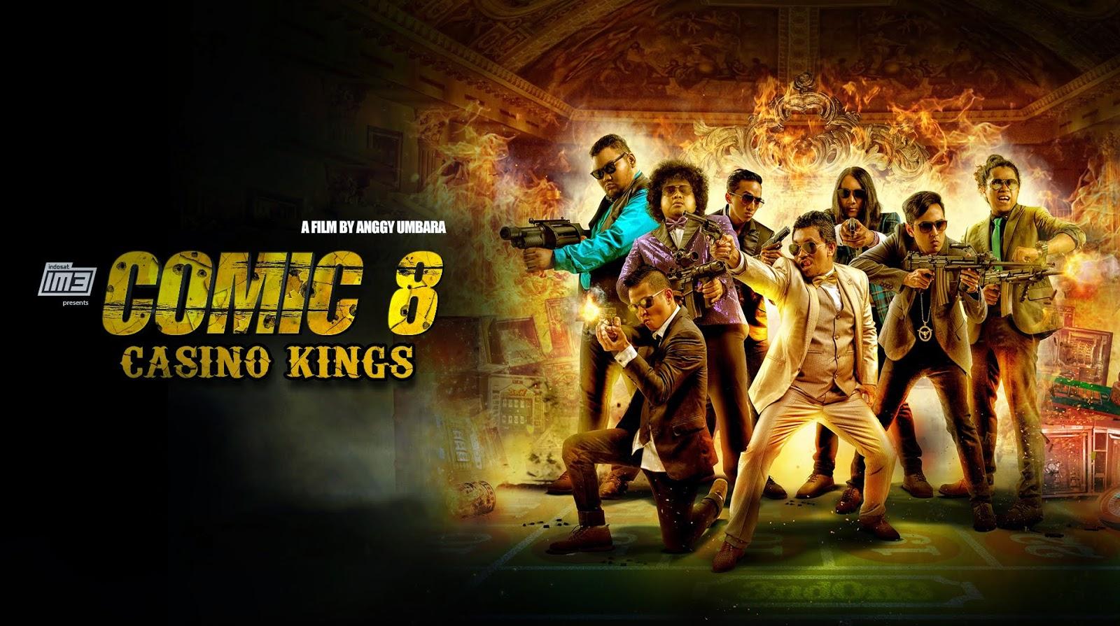 poster comic 8 casino kings