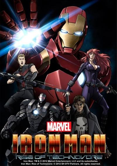 Iron Man Rise of the Technovore DVDRip Español Latino