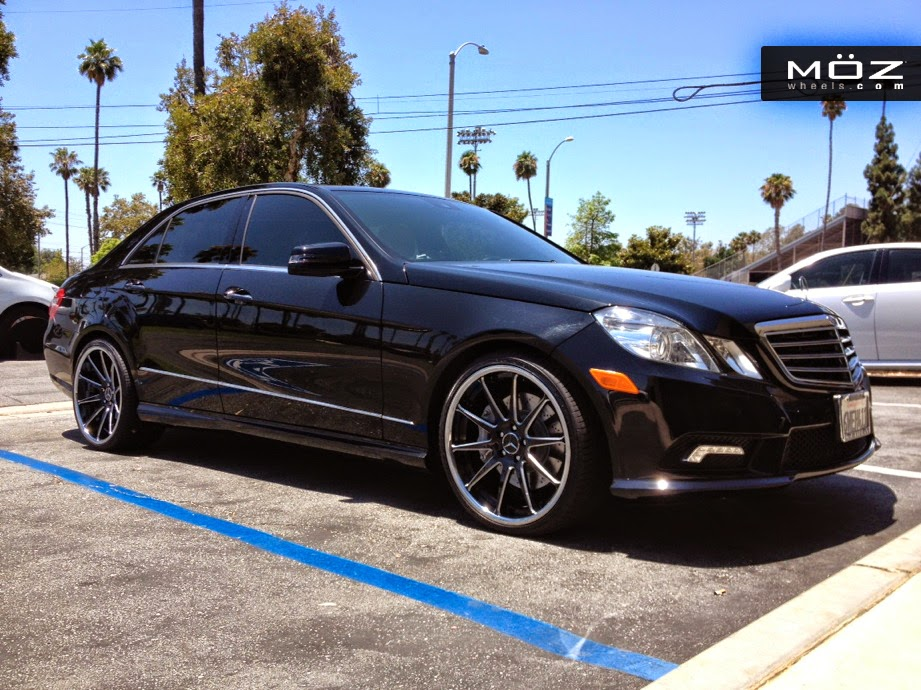 Mercedes benz w212 e63 amg on moz wheels benztuning for Mercedes benz wheel