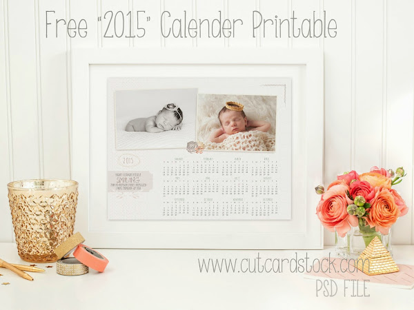 Free Digital Download - 2015 Thinking Of You Calender