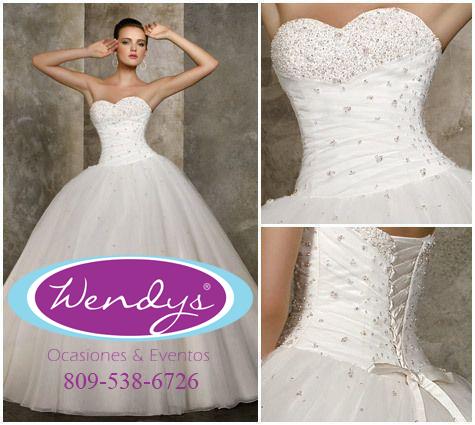 Alquiler de vestidos de novia civil