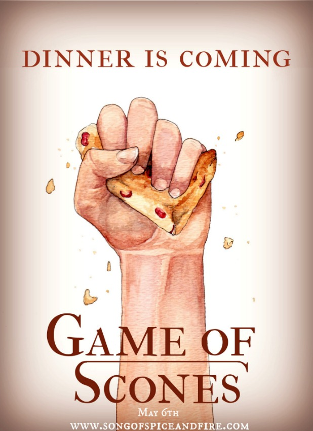 dinner is coming poster