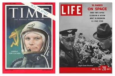 Yuri Gagarin Magazine Covers