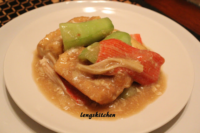 how to make tofu like chinese restaurant