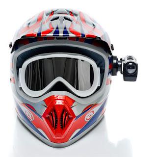 Midland Camera on Helmet