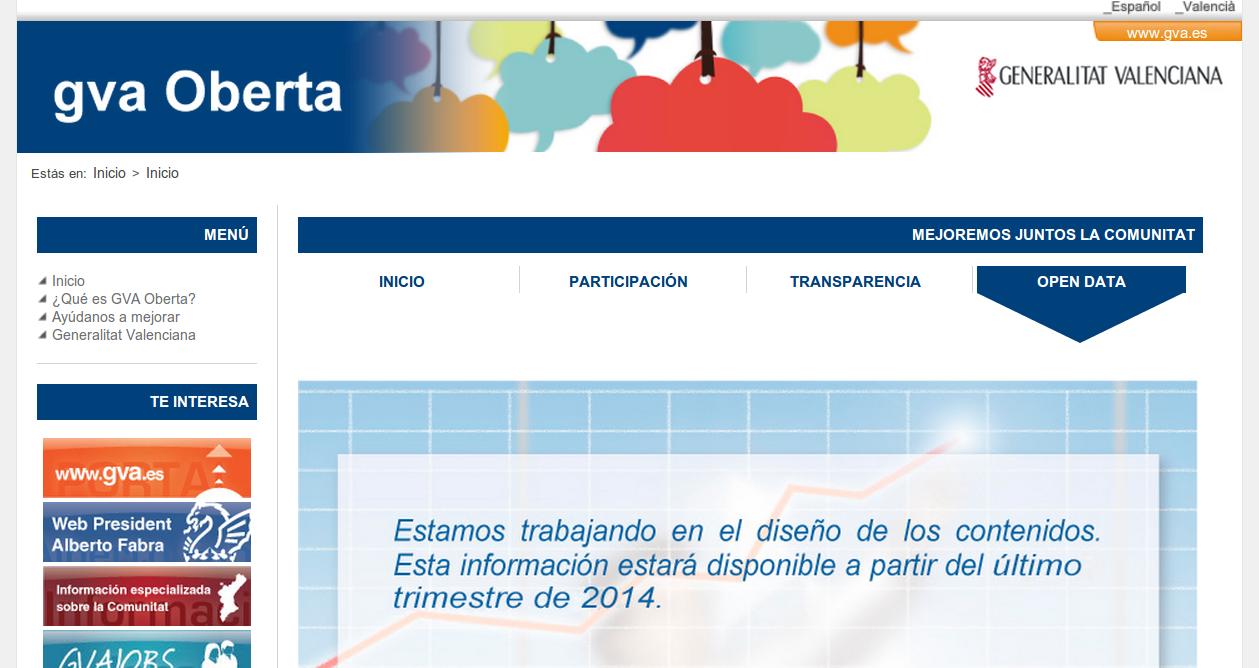 http://www.gvaoberta.gva.es/open-data