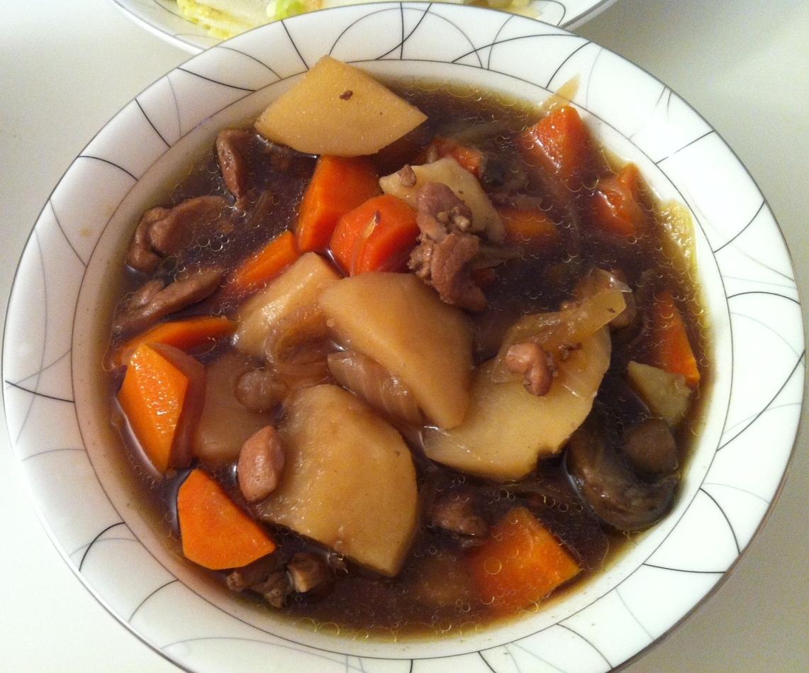 好吃又下飯的蘿蔔馬鈴薯燉肉