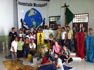 Nova coordenação estadual para a Juventude Missionária de Alagoas
