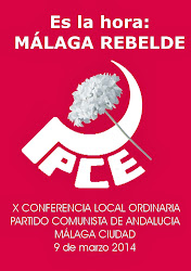 X Conferencia Local del PCA de Málaga
