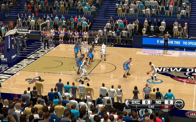Pelicans HD Court | NBA 2K14 PC Mod