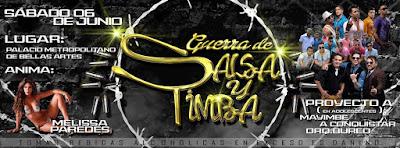 Guerra de salsa y timba 2015