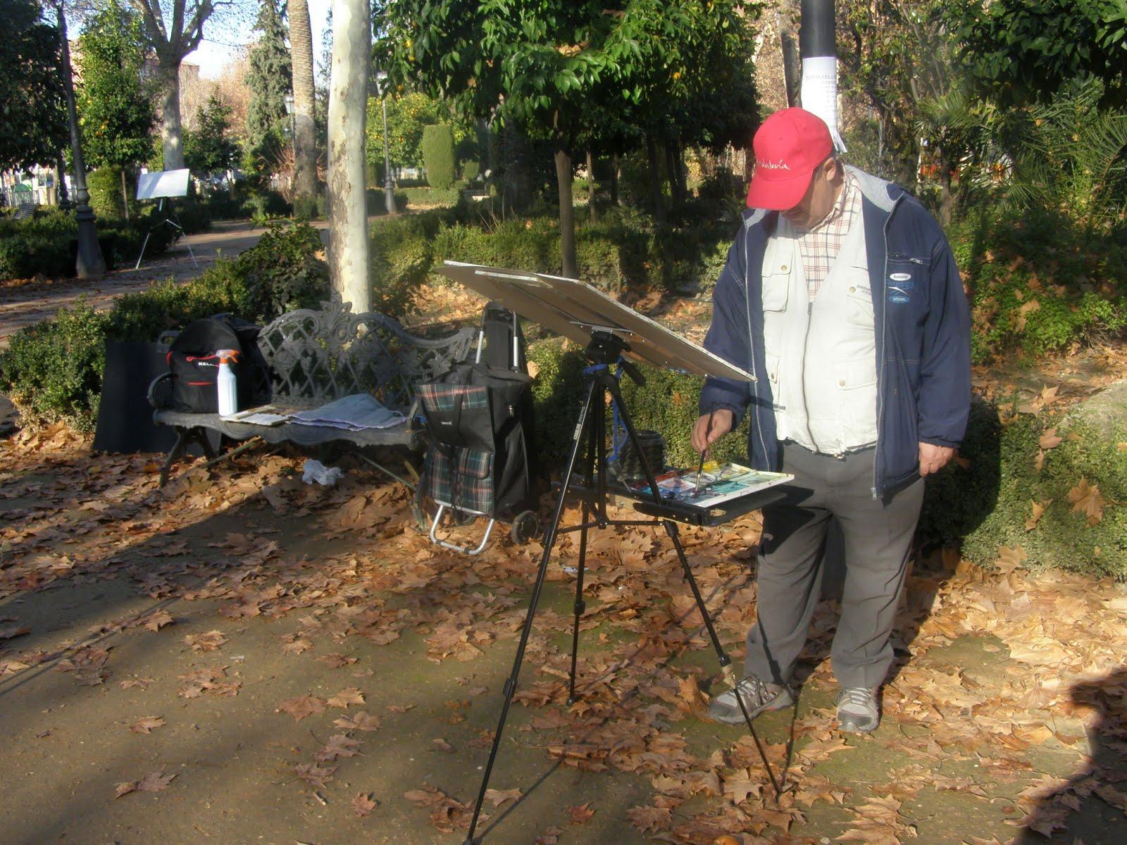 Akuarila granada comenzamos el 2013 en los jardines del genil for Jardines de alberto granada