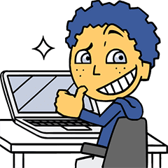 Sticker Facebook Hacker Boy