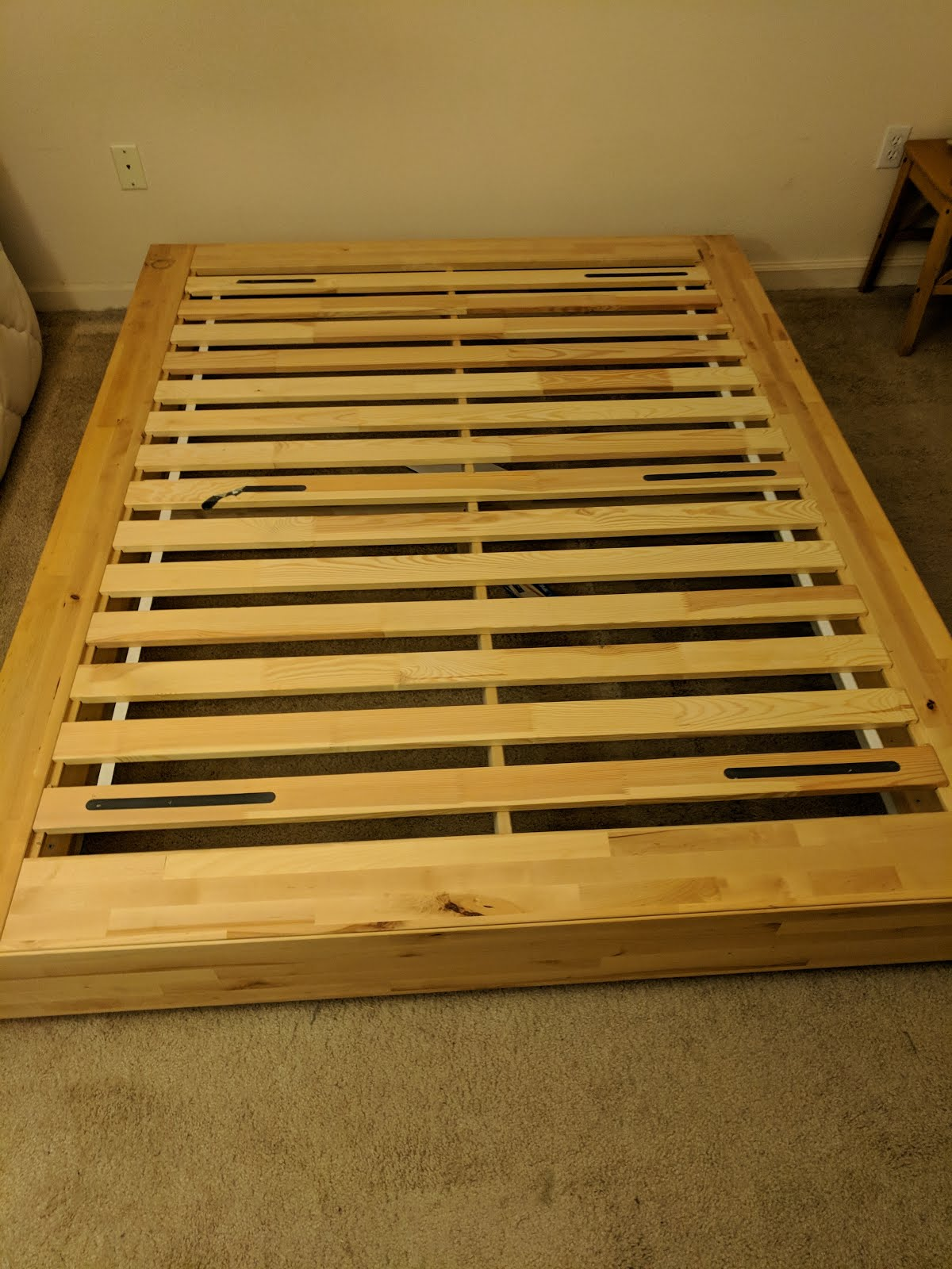 Apparently I Have A Blog Now Ikea Bed Frame Instructions