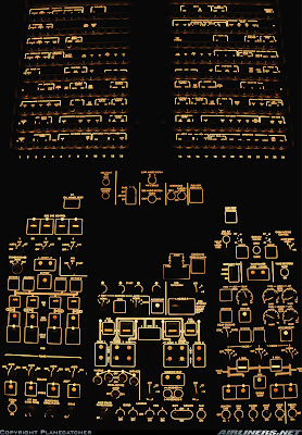 Simulando o voo BA0247: de Heathrow a Guarulhos no Boeing 747  Overhead+noturno