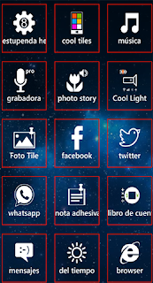 app cool tiles windows phone 8
