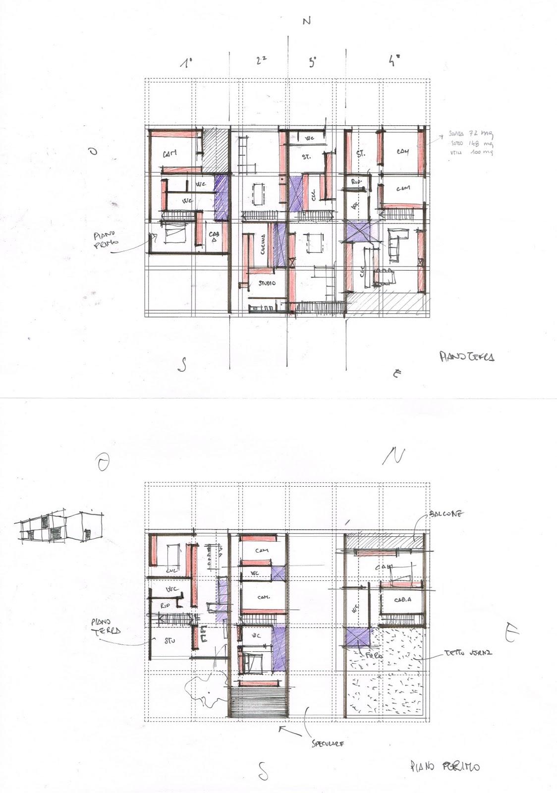 Gallery of with planimetria case for Miglior design della planimetria