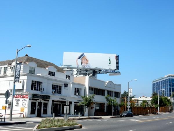 Peroni beer Sailor Hat billboard