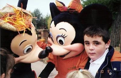 Hace unos años con la ilusión en Disney Land