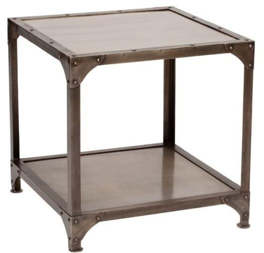 Metal End Table : design dump: affordable find: metal side table