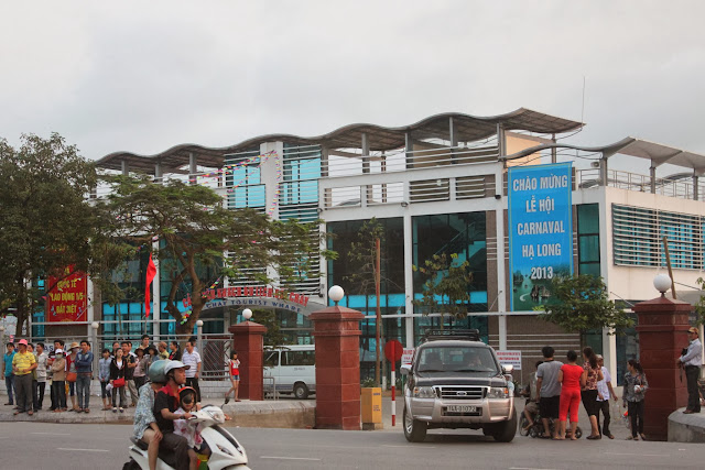 Halong Bay Wharf Ferry Terminal in Hanoi, Vietnam