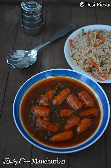 Manchurian recipe