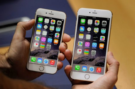 iPhone 6 Lebih Laku Ketimbang iPhone 6 Plus