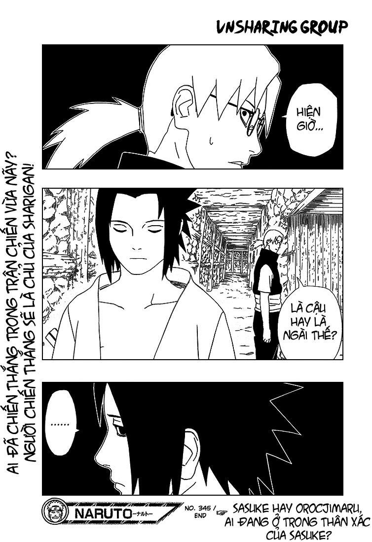Naruto chap 345 Trang 18 - Mangak.info