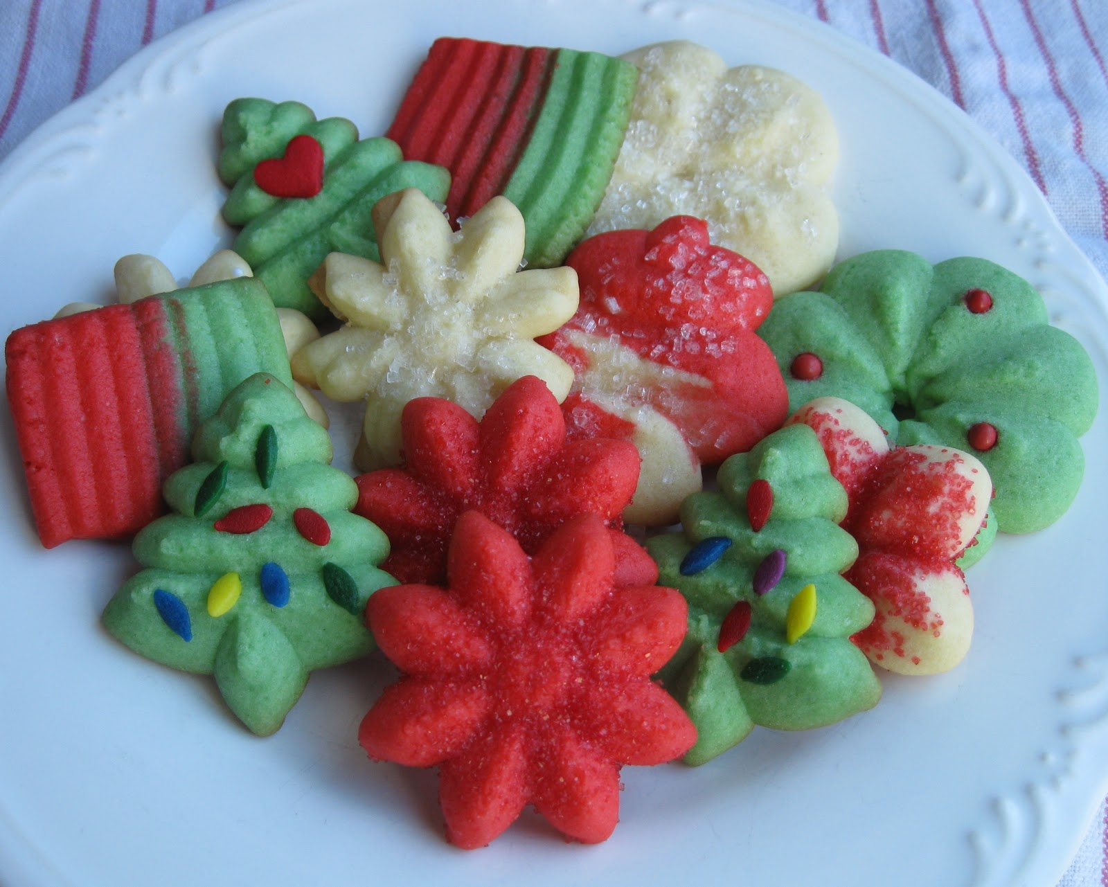 Baking Outside the Box: Spritz Cookies
