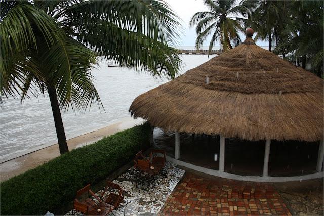 Comedor del hotel Carabane - Isla de Carabane