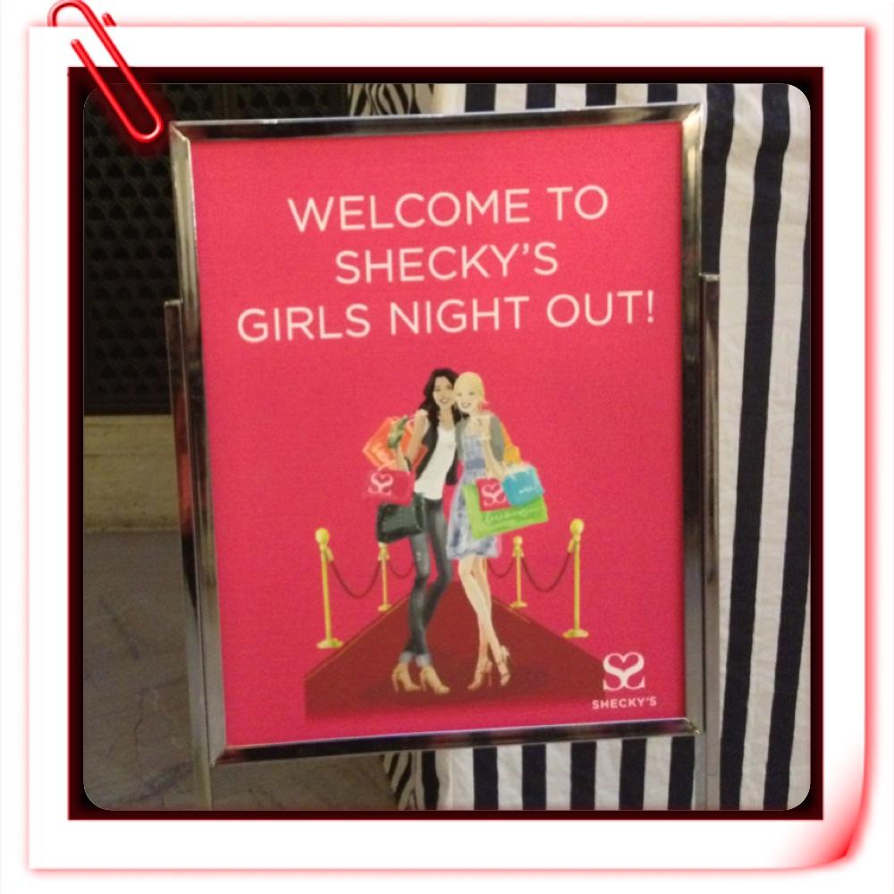 Just My P.O.V. – Shecky\'s Girls Night Out | Beauty School ScArlet