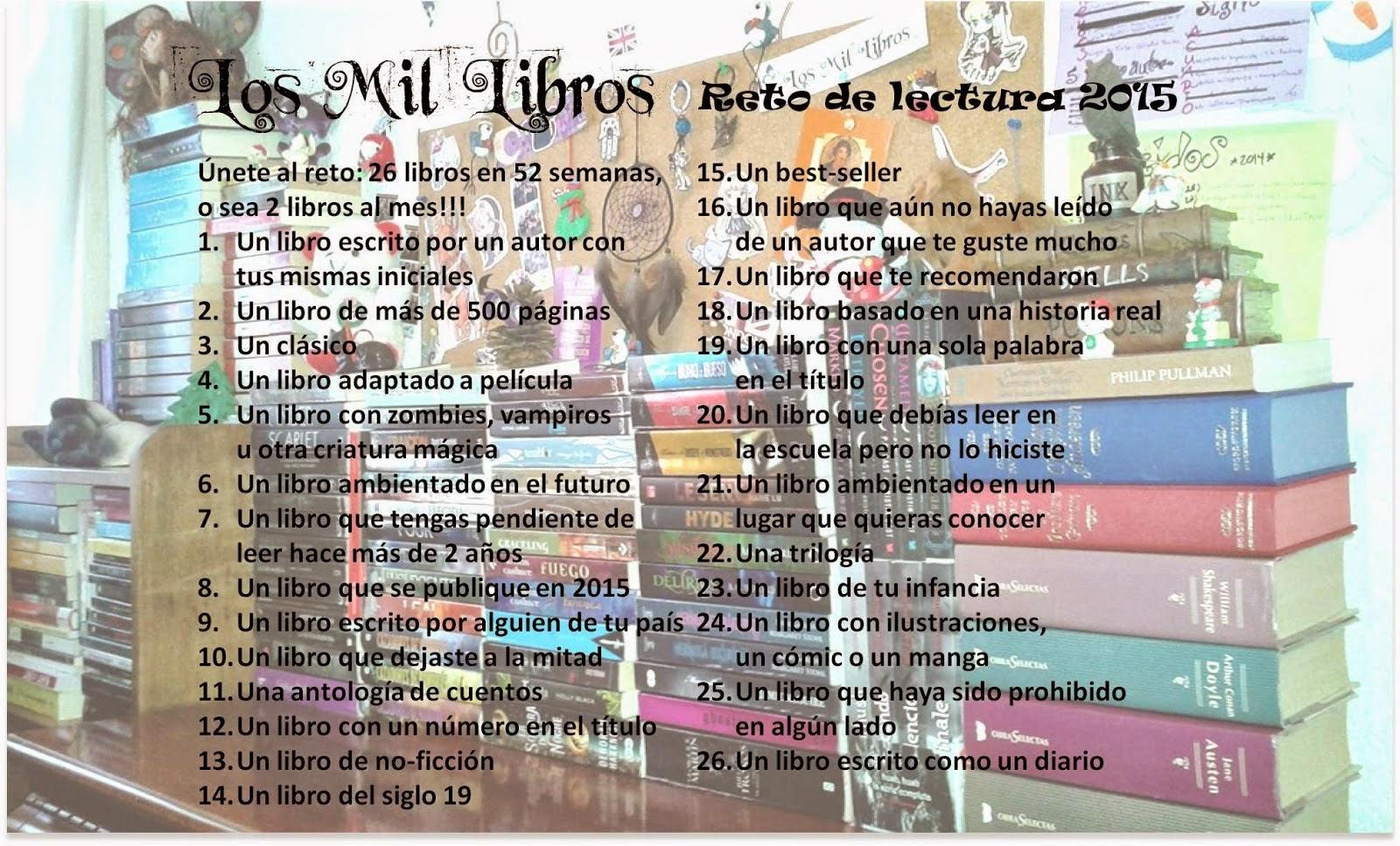 http://losmillibros.blogspot.com.es/2014/12/reto-de-lectura-de-2015.html?showComment=1419333691183#c536754940590833976