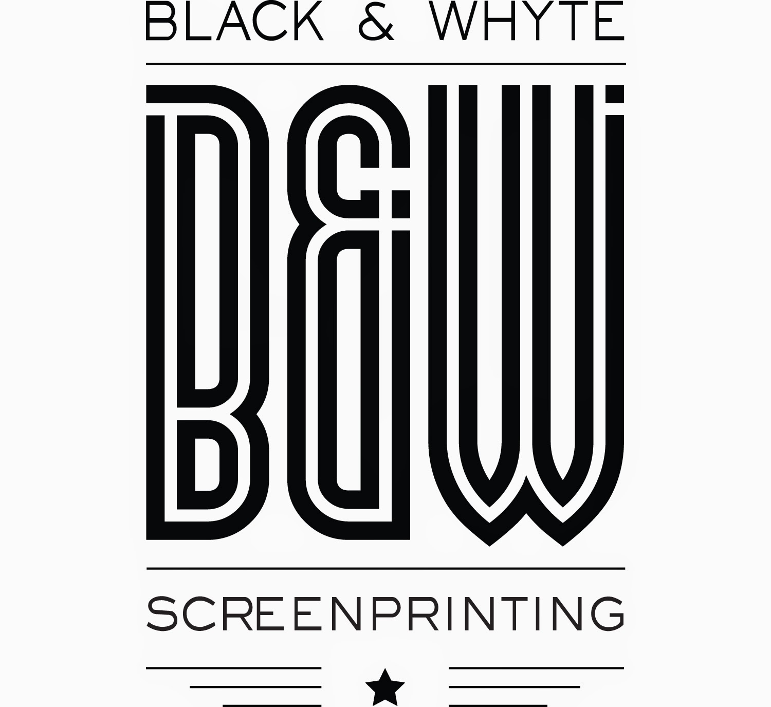 Black & Whyte Screenprinting