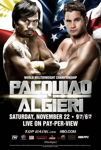 Pacquiao vs Algieri