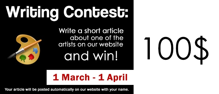 1.Monthly Contest. Write and Win!