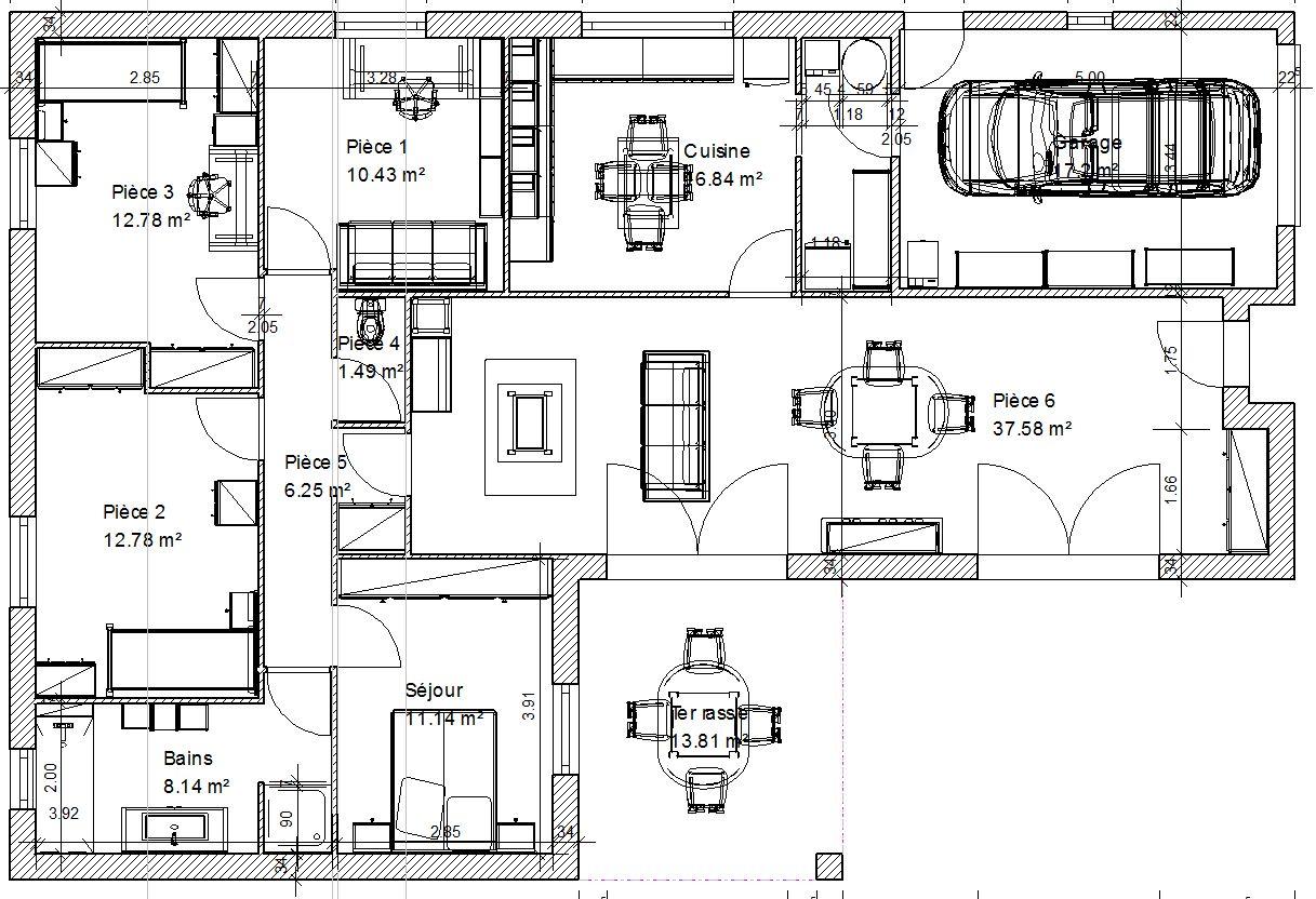 Elegant Elegant Best Plan De Maison Faire Construire Sa Maison With Maison  A Construire Plan With Plan De Masse Maison Gratuit With Plan Maison  Tropicale ...