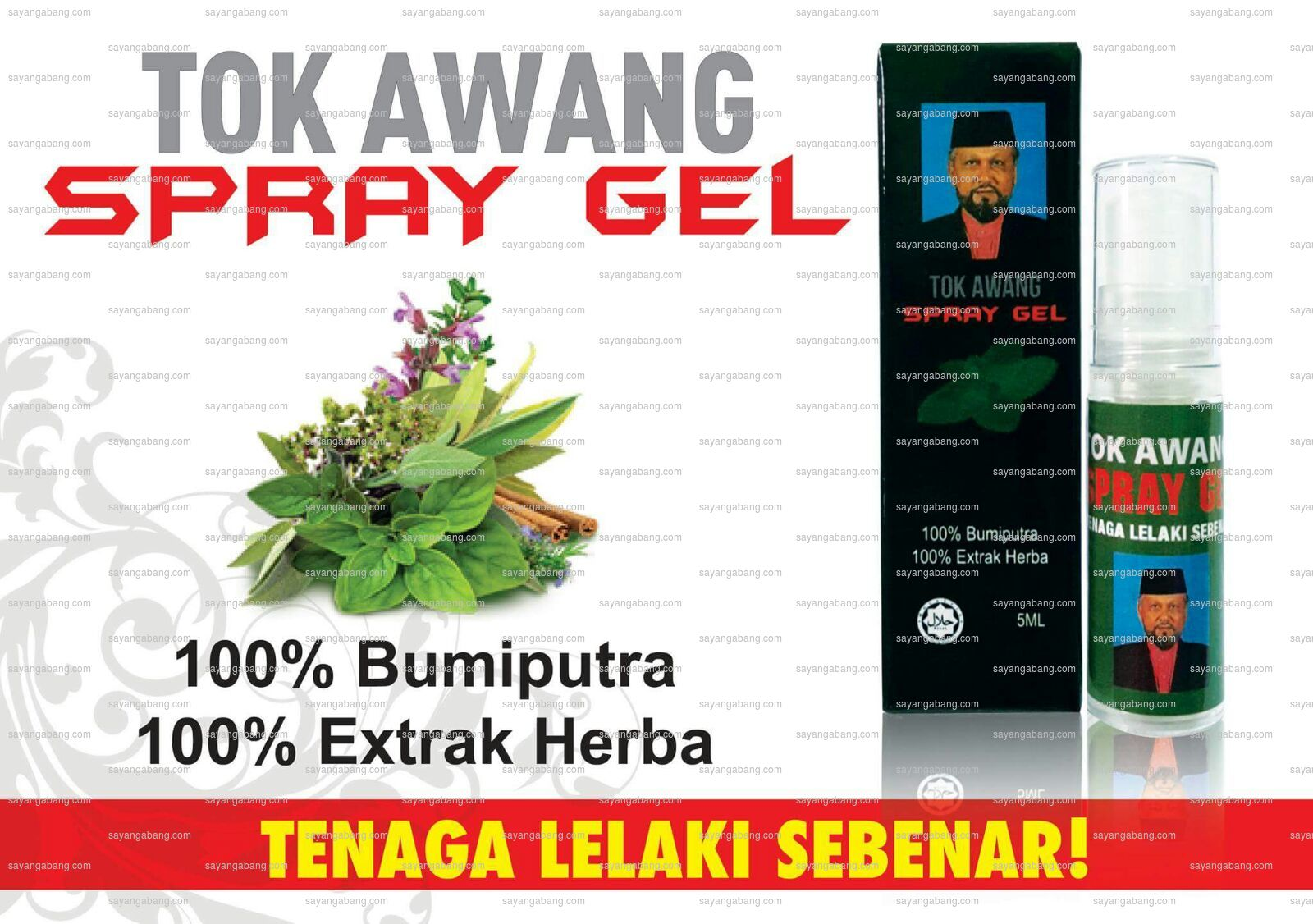 Tok Awang Gel Spray