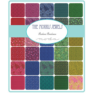 Moda THE MORRIS JEWELS Fabric by Barbara Brackman for Moda Fabrics