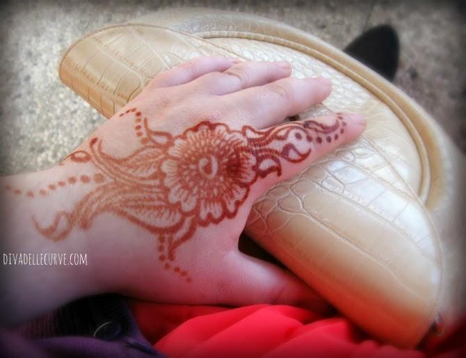 tatuaggio mehndi henné